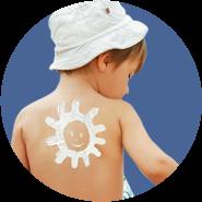 Защита от солнца для детей