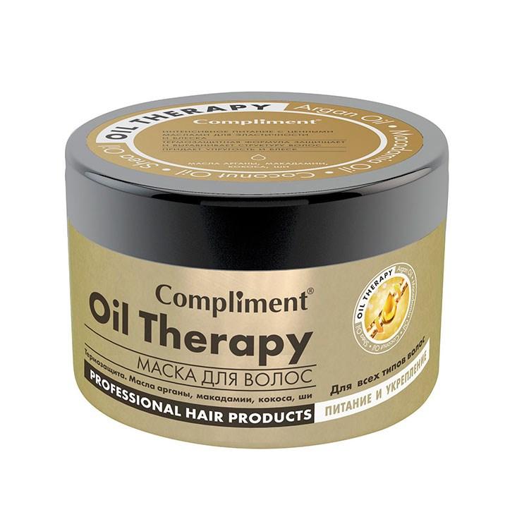 Compliment маска для волос oil therapy купить