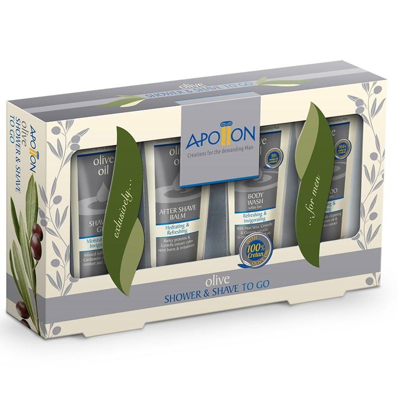 02ee6adb150a Aphrodite Подарочный набор APOLLON для мужчин 155 гр - фото 16570