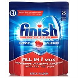 Finish Таблетки для ПММ All in 1 Max 25 шт - фото 13369
