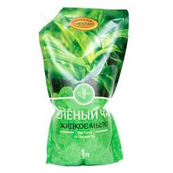 Жидкое мыло Вестар Зеленый чай 1 л - фото 14641