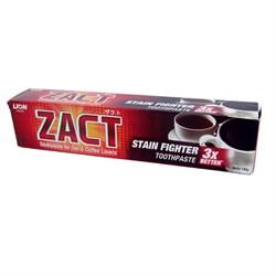 Lion Zact Зубная паста Smoker & Tea 190 г - фото 17181