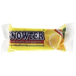 Snowter Запасной блок для очистителя унитаза Лимон 40 г - фото 5200