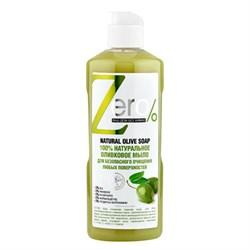 ZERO Мыло 100% натуральное оливковое для безопасного очищения любых поверхностей 500 мл - фото 5234