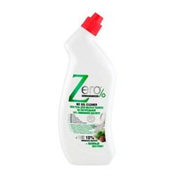 ZERO Эко гель для мытья туалета на натуральной 10% лимонной кислоте + хвойный экстракт 750 мл - фото 5239