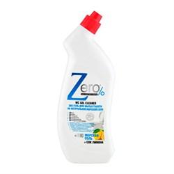 ZERO Эко гель для мытья туалета на натуральной морской соли + сок лимона 750 мл - фото 5240