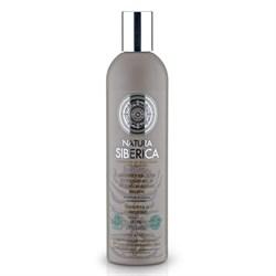 Шампунь для уставших и ослабленных волос Защита и энергия Natura Siberica 400 мл - фото 5389
