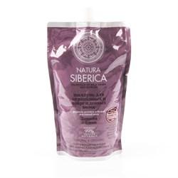 Шампунь для окрашенных и поврежденных волос Защита и блеск Дой-пак Natura Siberica 500 мл - фото 5546