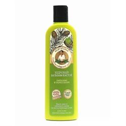 Рецепты Бабушки Агафьи на 5 соках Бальзам-настой для волос кедровый Питание и укрепление - фото 5945