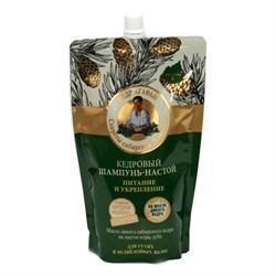 Рецепты Бабушки Агафьи на 5 соках Шампунь-настой для волос кедровый Питание и укрепление дой-пак - фото 5963