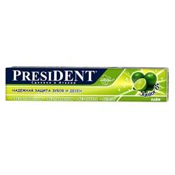 Детская зубная паста PresiDENT Junior 6+ 50 мл - фото 6402