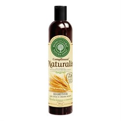 Compliment Naturalis Шампунь Конский кератин и протеины пшеницы 335 мл - фото 7044