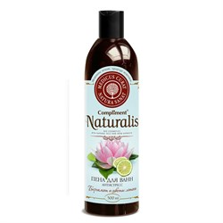 Compliment Naturalis Пена для ванн антистресс Бергамот и цветы лотоса 500 мл - фото 7061