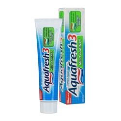 Aquafresh Зубная паста 3+ Мягко-мятная 100 мл - фото 7340