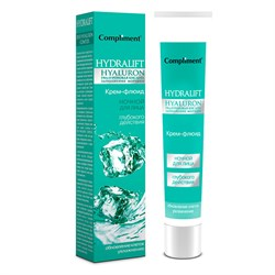 Compliment Hydralift Hyaluron Ночной крем-флюид глубокого действия для лица, 50 мл - фото 7493