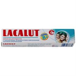 Lacalut Зубной паста гель Teens от 8 лет 50 мл - фото 7748