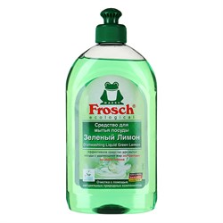 Frosch Бальзам для мытья посуды Зеленый лимон 500 мл - фото 7769