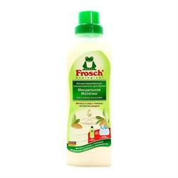 Frosch Концентрированный ополаскиватель для белья Миндальное молочко 750 мл - фото 7776