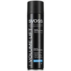 Syoss Volume Lift Лак для волос Объем экстрасильная фиксация 400 мл - фото 8400