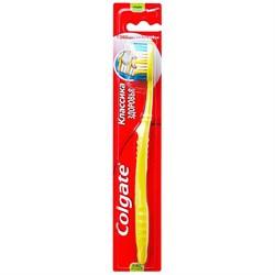 Colgate Зубная щетка Классика Здоровья средняя жесткость - фото 8436