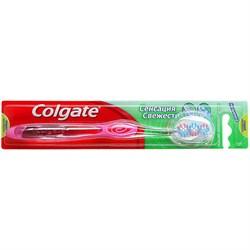 Colgate Зубная щетка Сенсация Свежести средняя жесткость - фото 8444
