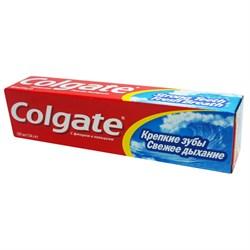 Colgate Зубная паста Крепкие Зубы Свежее Дыхание 100 мл - фото 8448
