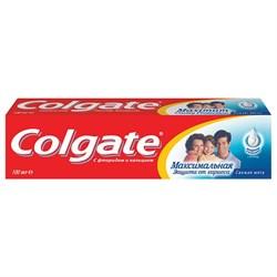 Colgate Зубная паста Максимальная защита от кариеса Свежая мята 100 мл - фото 8457