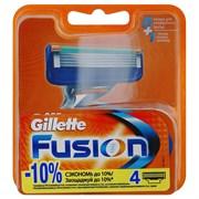 Gillette Fusion Сменные кассеты для бритья 4 шт