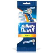 Gillette Blue II Plus Бритвы одноразовые 5 шт
