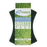 EcoForce Кухонные губки для сильных загрязнений 3 шт
