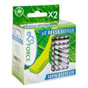 EcoForce Сменный блок (щетка для посуды) 2 шт