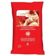 Premial Влажные салфетки для интимной гигиены женские 20 шт