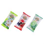 Amra Влажные салфетки освежающие с фруктовыми ароматами 20 шт