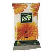 Premial Vita Active Влажные салфетки освежающие с экстрактом календулы 15 шт