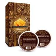 Compliment Медовое Искушение Набор №1036 Горячее медовое обертывание 250 мл + Медовый пилинг для тела 250 мл