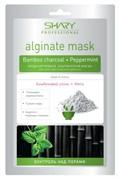 Shary Моделирующая альгинатная маска для лица, шеи и области декольте Контроль над порами Бамбуковый уголь и Мята 28 г