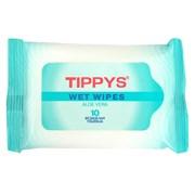 Tippys Влажные салфетки 10 шт