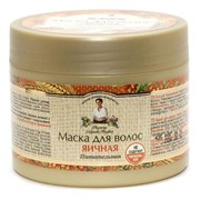 Рецепты бабушки Агафьи Маска яичная питательная для всех типов волос 300 мл