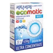 Ecomatic Стиральный порошок для белого белья 450 г