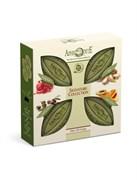 Aphrodite Набор мыла оливкового Фирменная коллекция. 4 куска: с гранатом с арганой с манго и папайей  оригинальное без отдушек  340 гр