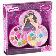 Подарочный набор для девочек Косметичка-диск Bondibon EvaModa
