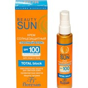 Флоресан Beauty Sun Солнцезащитный крем Полный блок SPF 100 75 мл