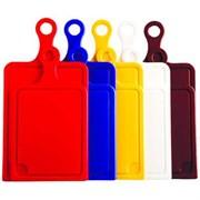 Мультипласт Доска разделочная Малая с ручкой 19*24 см (цвета в асс-те)