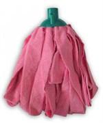 Умничка Насадка для мытья пола матерчатая микрофибра резанная