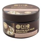 Эколаб Кератиновая маска для волос Интенсивное восстановление 250 г