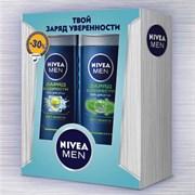 Подарочный набор Nivea для мужчин Заряд бодрости и свежести