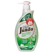 Гель для мытья посуды и детских принадлежностей Зеленый чай и Мята Jundo 1 л