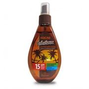 Пальмовый рай Масло для быстрого загара Гавайское SPF10 Флоресан 160 мл