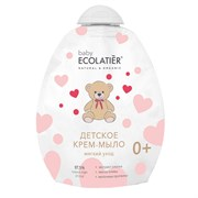 Детское крем-мыло Мягкий уход 0+ дой-пак Ecolatier baby 250 мл