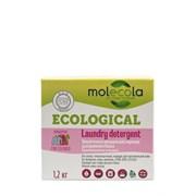Molecola Стиральный порошок для цветного белья с растительными экзимами 1,2 кг